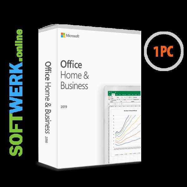 Microsoft Office Home & Business 2019 für PC