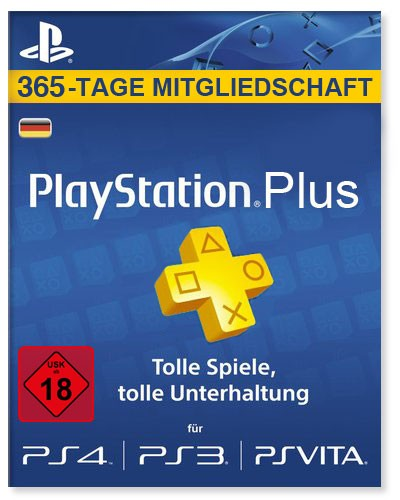 PlayStation Plus 365-Tage