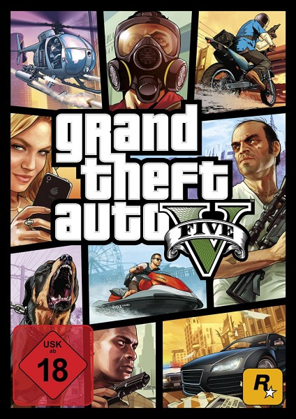 Grand Theft Auto V GTA 5 [PC Code - Rockstar Social Club] WORLDWIDE / Multilanguage