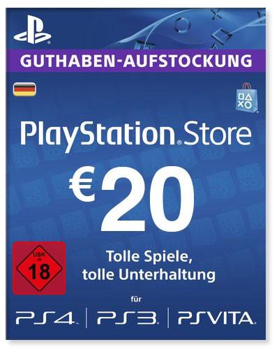 PlayStation Store Guthaben Deutschland 20 Euro