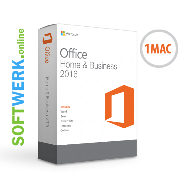Microsoft Office Home & Business 2016 für MAC