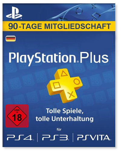 PlayStation Plus 90-Tage