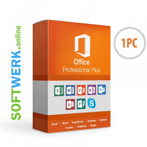 Microsoft Office Professional Plus 2016 für PC