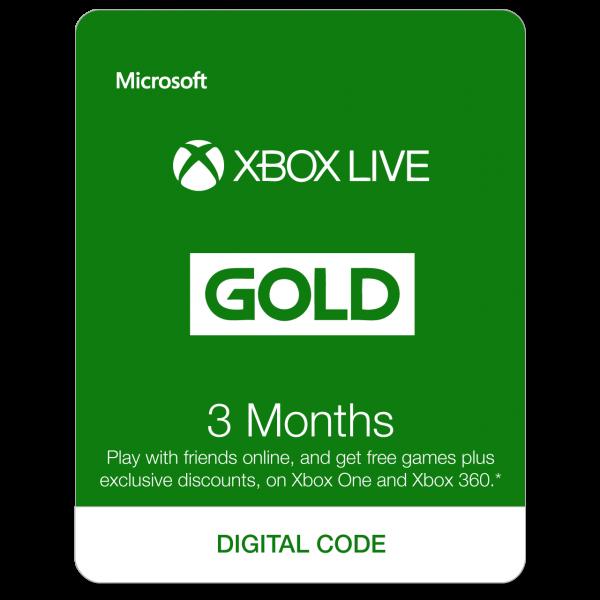 Xbox Live 3 Months EU
