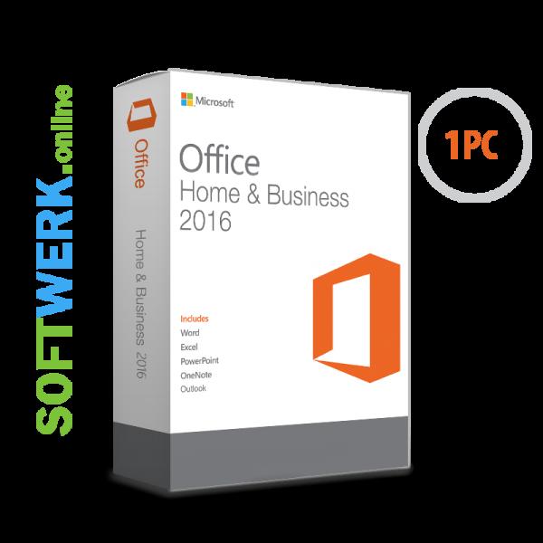 Microsoft Office Home & Business 2016 für PC